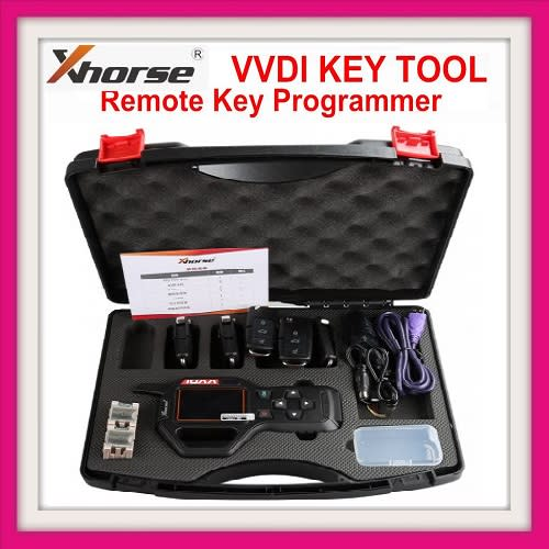 Xhorse VVDI Key Tool Remote Generator V2 4 3 EU Version Support English  Spanish French Turkish