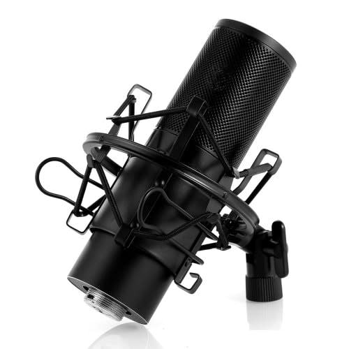 studio monitors yanmai q9 studio capacitive microphone with stand live microphone was sold for. Black Bedroom Furniture Sets. Home Design Ideas