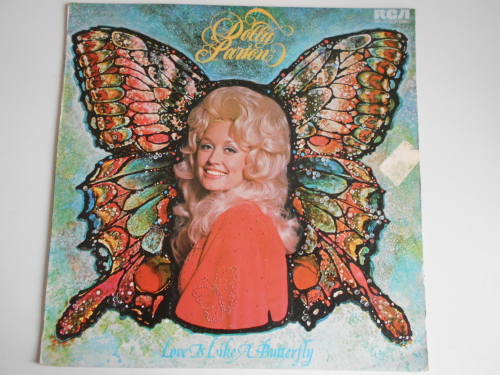 Country Dolly Parton Love Is Like A Butterfly Vinyl Lp