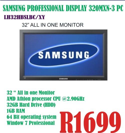 Samsung Professional Display 320MXN-3 PC