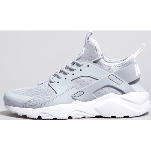 quality design f35a6 9cedd Original Mens Nike AIR HUARACHE RUN ULTRA 819685 007 Wolf Grey Pale Grey  Size UK 10 (SA 10)