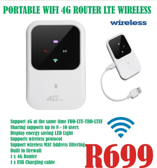 Portable Wi Fi 4G LTE Wireless Router