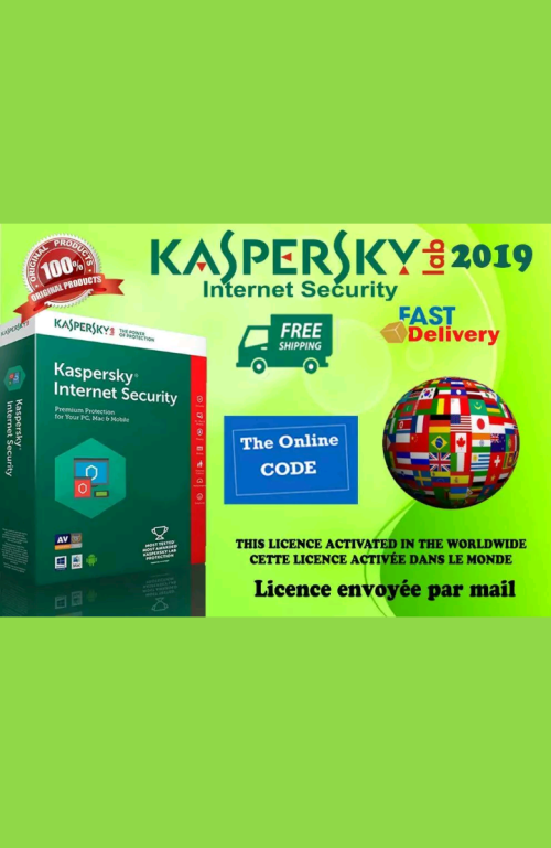 kaspersky internet security key ebay