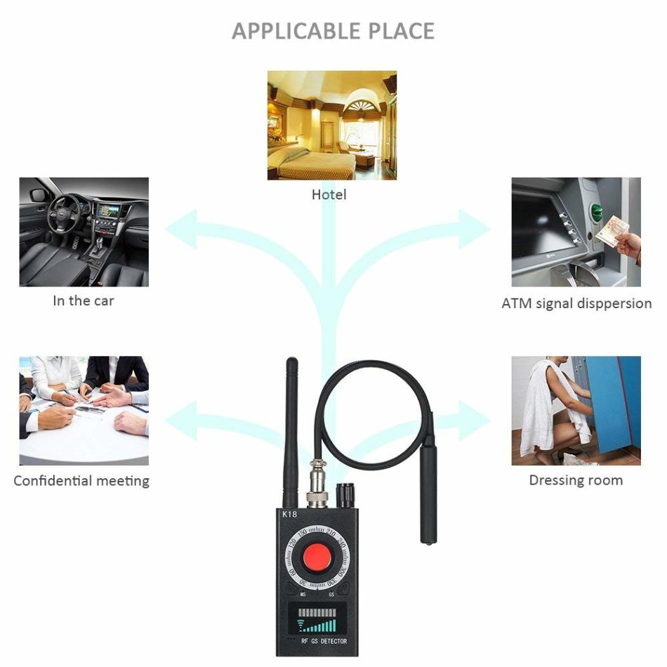 Other Security Amp Surveillance Anti Spy Rf Detector