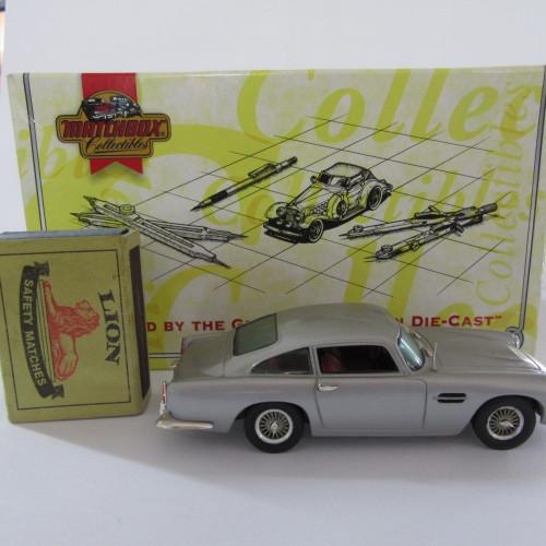 Matchbox 1962 Aston Martin DB4 With Certificate
