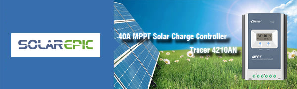 Industrial Automation & Control - EPEVER 40A MPPT Solar Charge