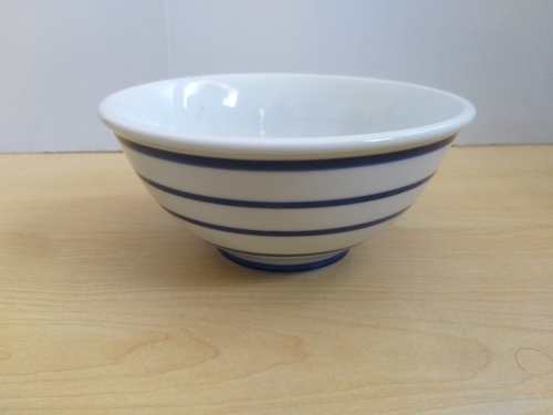 Blue White Bowl Width 20cm