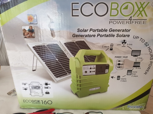 Other Camping Amp Outdoors Ecobox 160 Solar Power