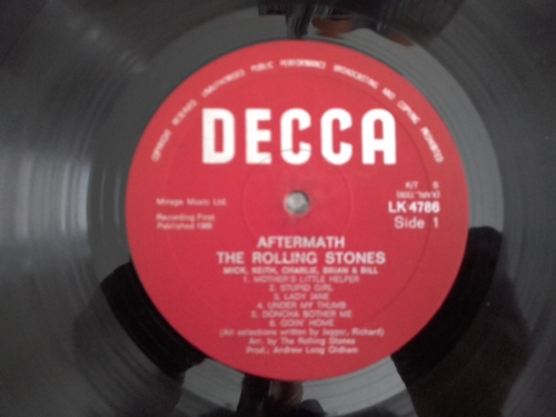 Classic Rock - The Rolling Stones - Aftermath ( rare