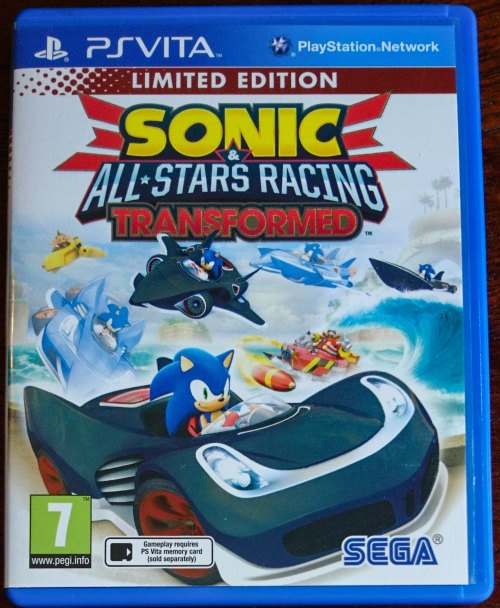Sonic All-Stars Racing Transformed - PS Vita