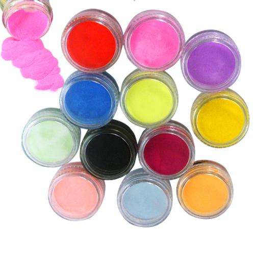 Dip Powder Nail Polish South Africa: 12 X Colors Nail Art Acrylic Powder Set Was Listed