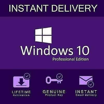 Operating Systems - Microsoft Windows 10 Pro 32/64-bit ...