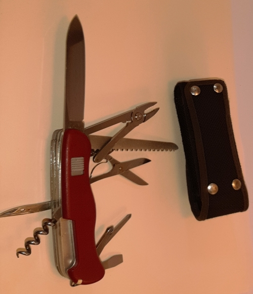 Knives Victorinox Hercules Swiss Army Knife Red