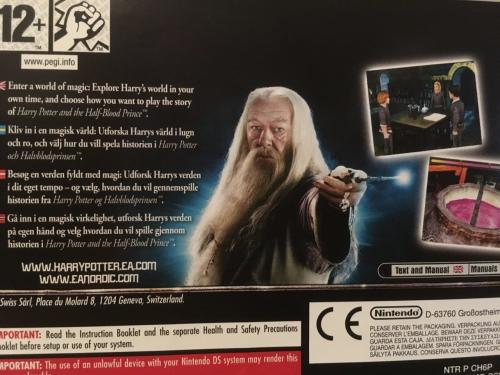 Nintendo DS - Harry Potter and the Half Blood Prince