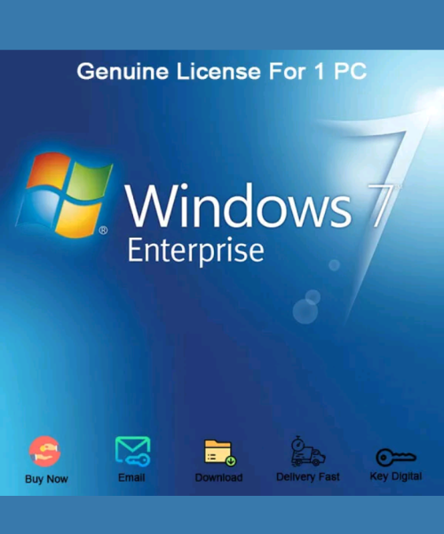 windows 7 enterprise 64 bit license key