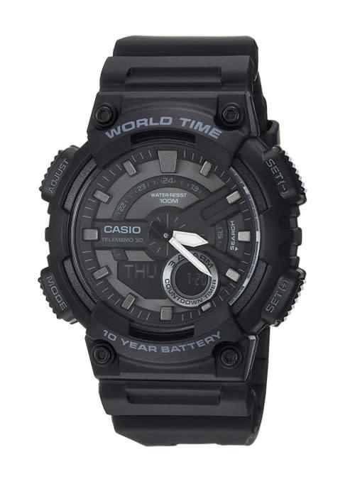 c61692825a7e Men s Watches - Casio TeleMemo 30 AEQ-110-1B