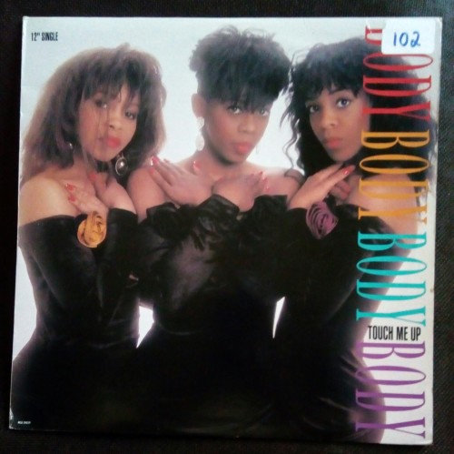 Body - Touch Me Up 12 Single Vinyl Record - USA Pressing