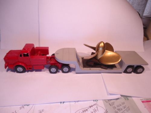 Dinky Toys - # 986 - Mighty Antar with Propeller
