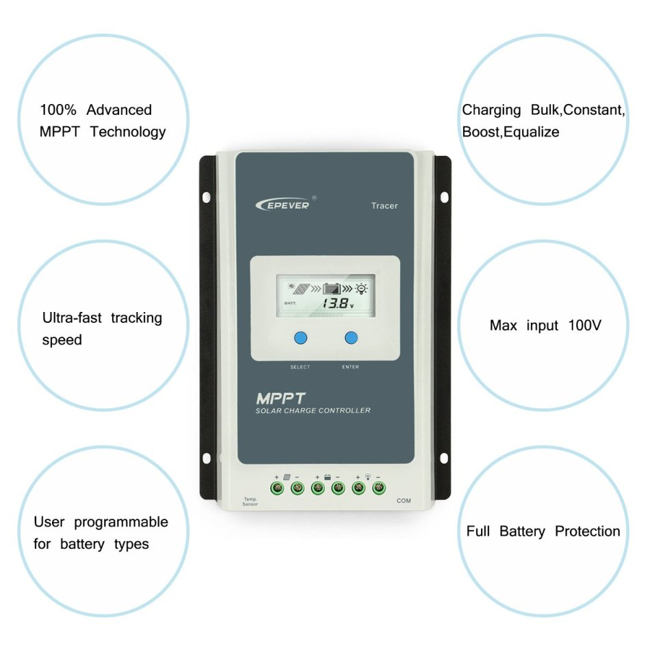 Electrical Equipment & Tools - EPEVER MPPT Charge Controller