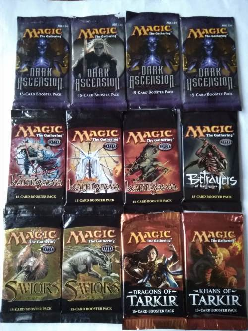 Magic the Gathering - Repack boosters (Choose what is needed)