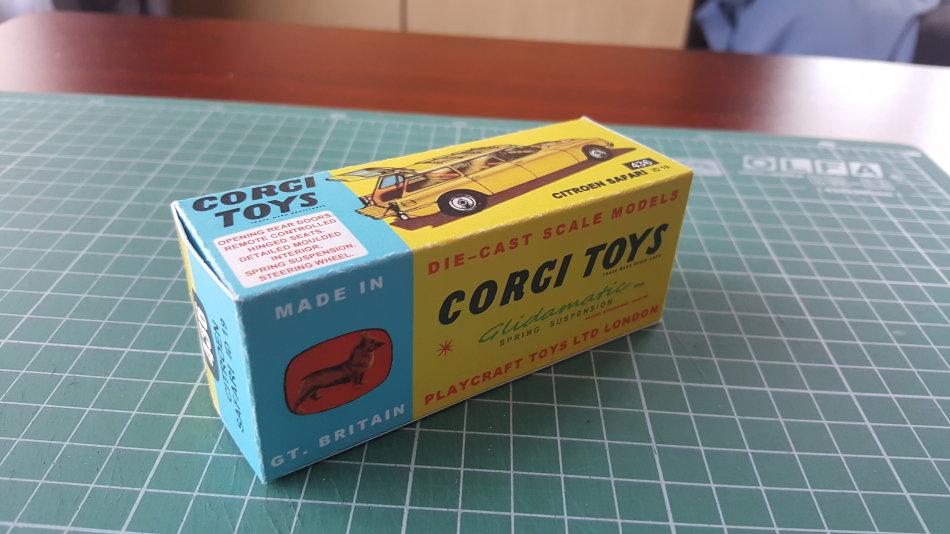 REPRO BOX CORGI n 436 CITROEN ID 19 Safari
