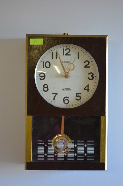 Cuckoo Amp Wall Clocks Seiko Sonola Transistor Wall Clock