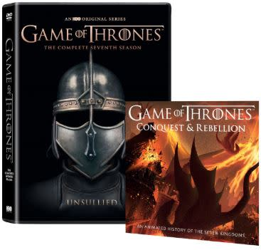 Game Of Thrones Season 7 Unsullied Sleeve Includes Conquest Rebellion Dvd