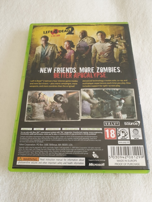 Games - Left 4 Dead 2 - Xbox 360 Game for sale in