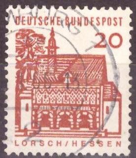 Germany & Colonies - GERMANY 1964 German Building ...