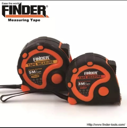 Finder 5m High Quality Measure Tape Abstpr Material Bulk Only