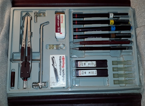 Writing Instruments Accessories Vintage Rotring Hi Tech Set Rapidograph Technical Drawing Pens Pencil Accessory Set Was Listed For R420 00 On 27 Sep At 07 16 By Maningi Booksantiques In Port Elizabeth Id 434052993