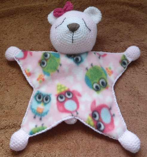 Teddy -Baby Comforter