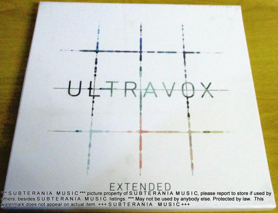 Pop Ultravox 4 X Vinyl Lp 7 Quot Single Box Set Was Listed