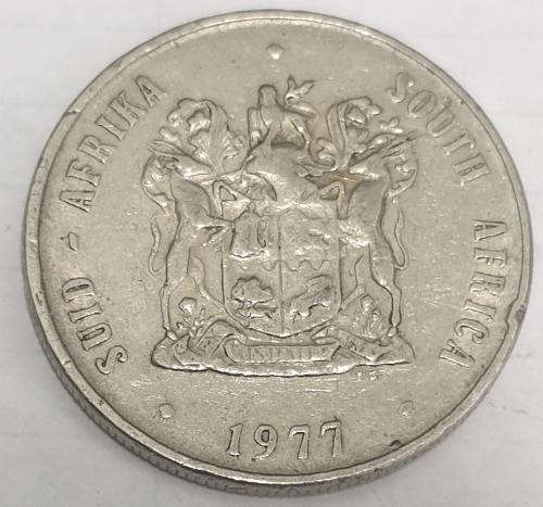 1 rand 1977 coin value