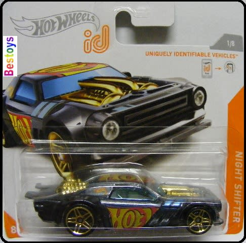 Hot Wheels id NIGHT SHIFTER NEU 2020 Long Card 1//8