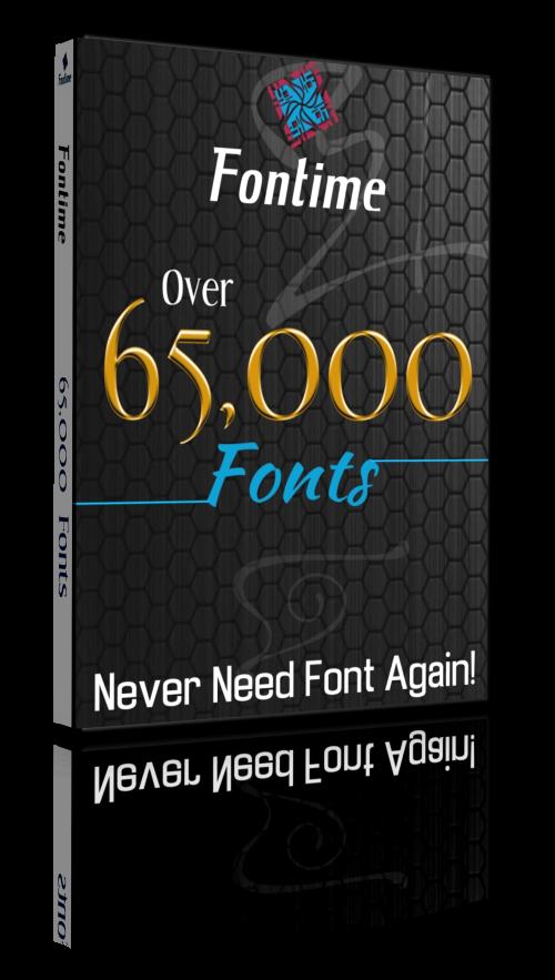 Download Graphics & Multimedia - Fontime Font Mega Pack - 65,000 ...