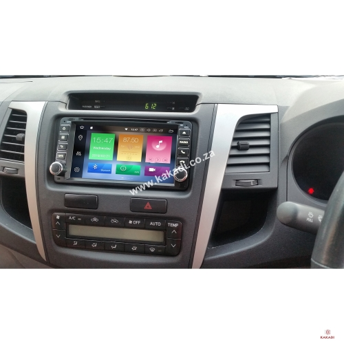 Toyota Hilux / Fortuner Android GPS