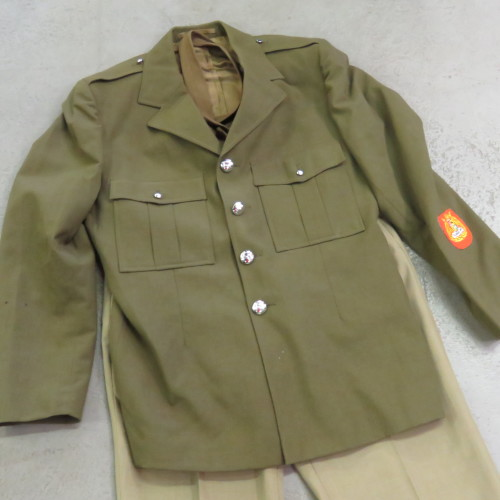 SADF Tunic With Trousers, Belt And Tie