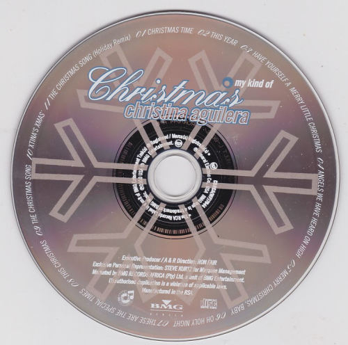 Pop - Christina Aguilera - My Kind Of Christmas CD - CDRCA(WF)7044 for sale in Cape Town (ID ...