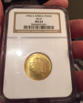 rare veldpond coin