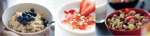 Muesli and oats