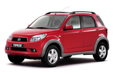 The Best SUVs and MPVs Daihatsu Terios