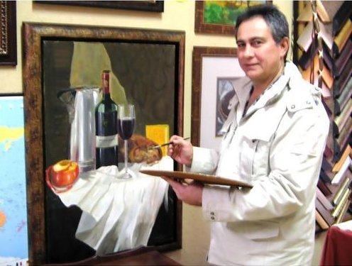 South African Artist Mike Taljaard