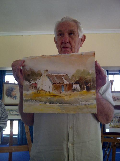 South African Artist Wallace Hulley