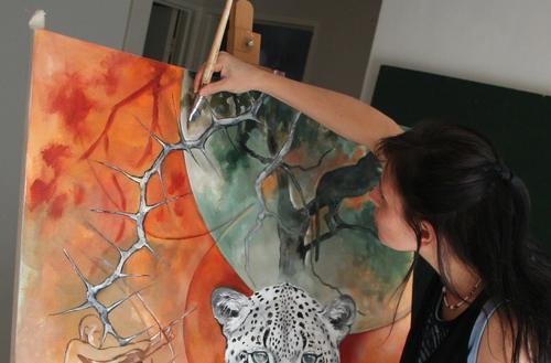 South African Artist Stella Pelser