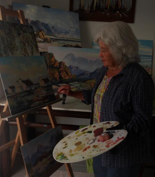 South African Artist Patty Mynhardt
