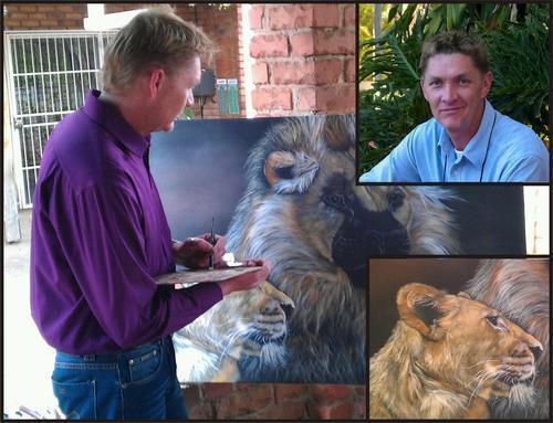 South African Artist Mario Pelser