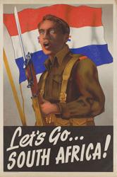 South African War Poster