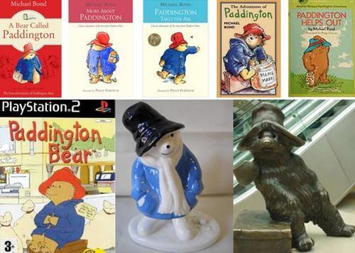 paddington bear figurines