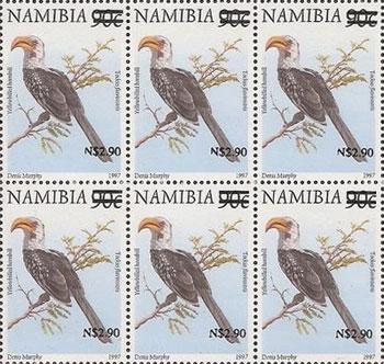 rare stamp Namibia